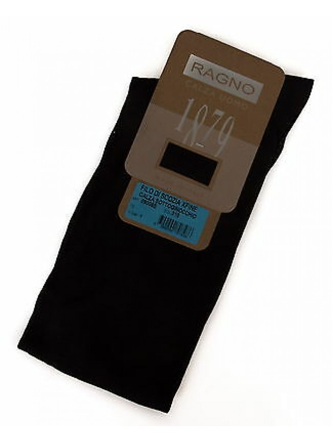 Calza calzino uomo cotone filo scozia RAGNO 09005S taglia 45/46 c. 310 ANTRACITE