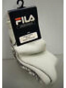 Calza corta calzino antiscivolo unisex socks FILA 55013 t.40-41 c.223 perla