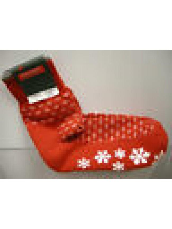 Calza corta calzino antiscivolo unisex socks RAGNO SPORT 9059C t.35-38 rosso red