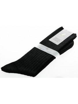 Calza corta calzino circolazione lana PUNTO relax 7/3 T.11/42 antracite