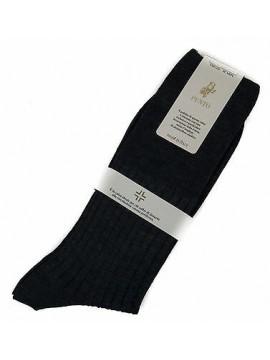 Calza corta calzino circolazione lana PUNTO relax 7/3 taglia 12/44-45 col. JEANS