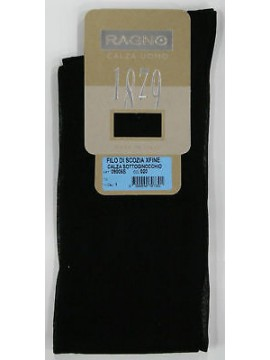 Calza lunga cotone filo di scozia RAGNO 09005S taglia 42/43 colore NERO 020