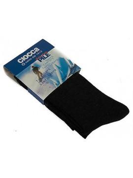 Calza lunga pile uomo calzini CIOCCA art. 512 taglia 40-45 colore GRIGIO Italy