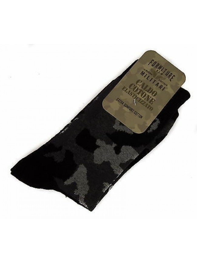 Calzino calza uomo sock FORNITURE MILITARI 09346C taglia II-39/42 c. 020F CAMO
