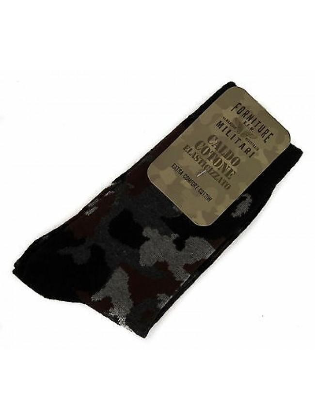 Calzino calza uomo sock FORNITURE MILITARI 09346C taglia II-39/42 c. 310F CAMO
