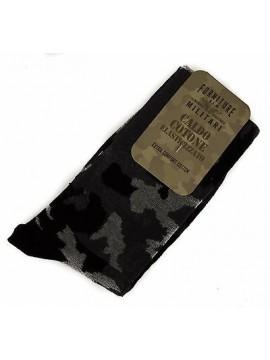 Calzino calza uomo sock FORNITURE MILITARI 09346S taglia III-43/46 c. 020F CAMO