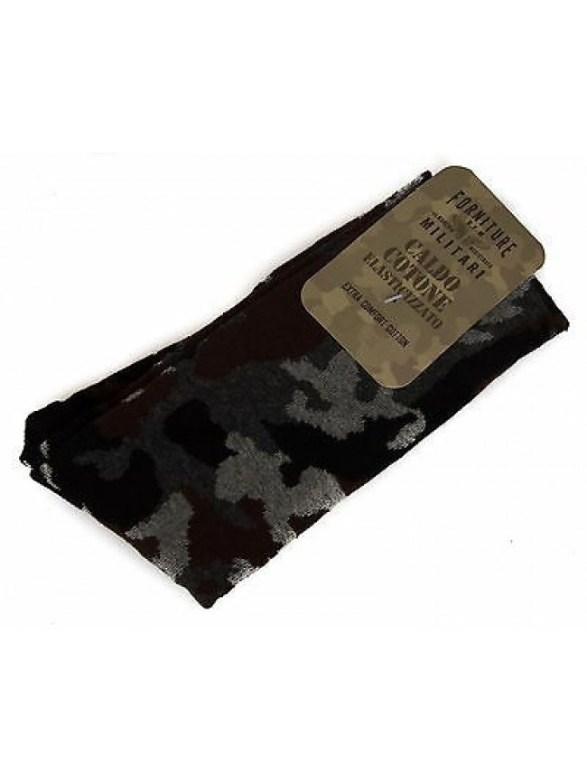 Calzino calza uomo sock FORNITURE MILITARI 09346S taglia III-43/46 c. 310F CAMO