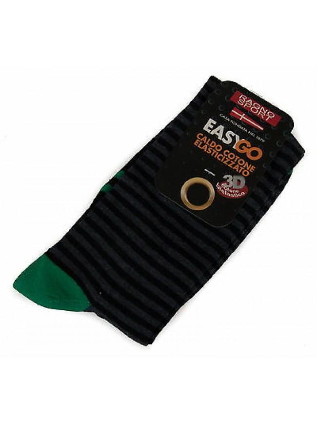 Calzino calza uomo sock RAGNO SPORT a. 09342S taglia III-43/46 col. 078MF BLU