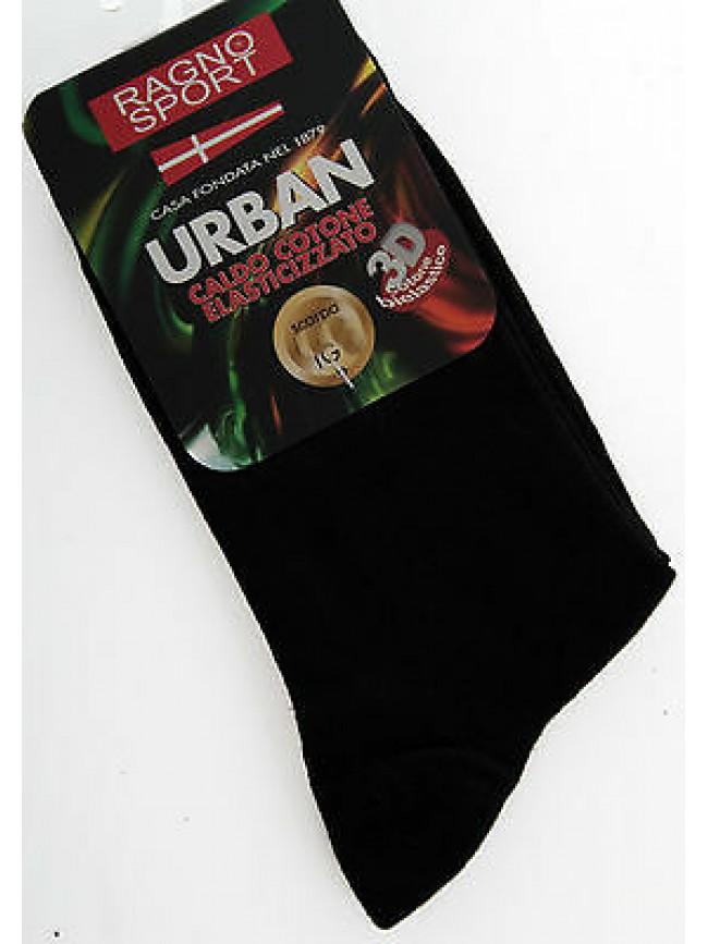 Calzino corto calza sock RAGNO SPORT a.09289C T.III 43/46 col.020 NERO