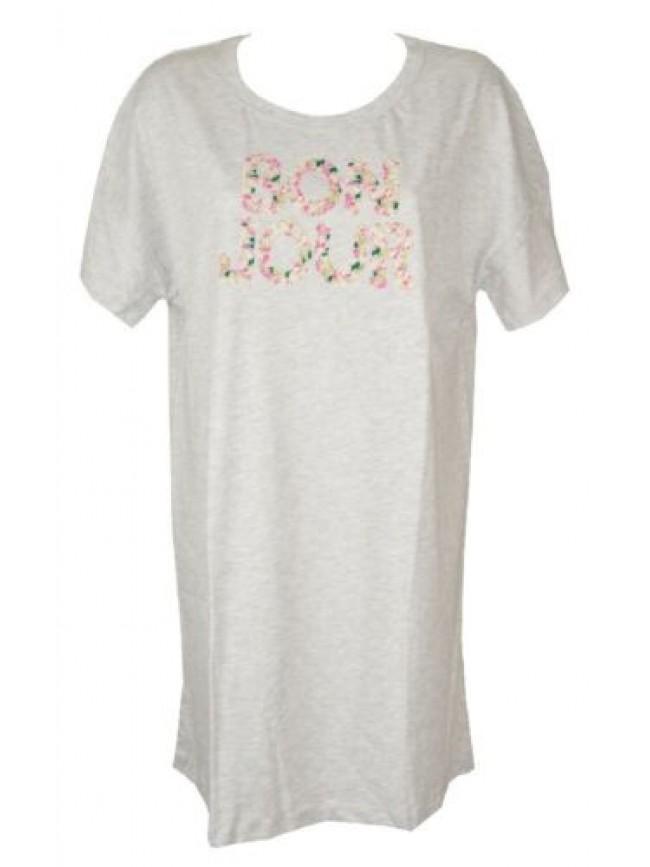 Camicia da notte donna cotone manica corta girocollo RAGNO articolo D246N0