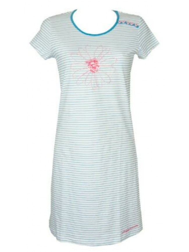 Camicia da notte donna manica corta girocollo RAGNO articolo N70387
