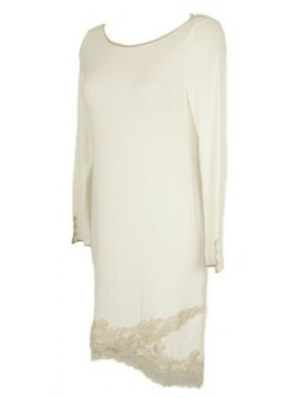 Camicia da notte donna manica lunga pizzo sleepwear GIANANTONIO A. PALADINI arti