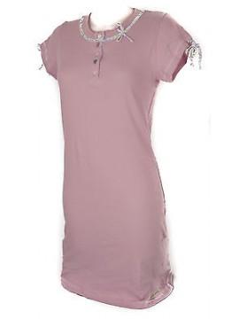 Camicia da notte donna night gown RAGNO art. N70437 taglia L colore 127F ROSA