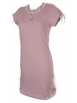 Camicia da notte donna night gown RAGNO art. N70437 taglia XS colore 127F ROSA