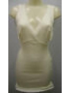Camiciola donna spalla larga pura lana RAGNO a.0041L4 t.7/XXL C.002 BIANCO LANA