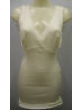 Camiciola donna spalla larga pura lana RAGNO art.0041L4 t.6/XL C.002 BIANCO LANA