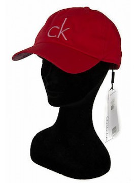 Cappello baseball cap hat CK CALVIN KLEIN JEANS a. K60K601931 col. 601 ROSSO RED