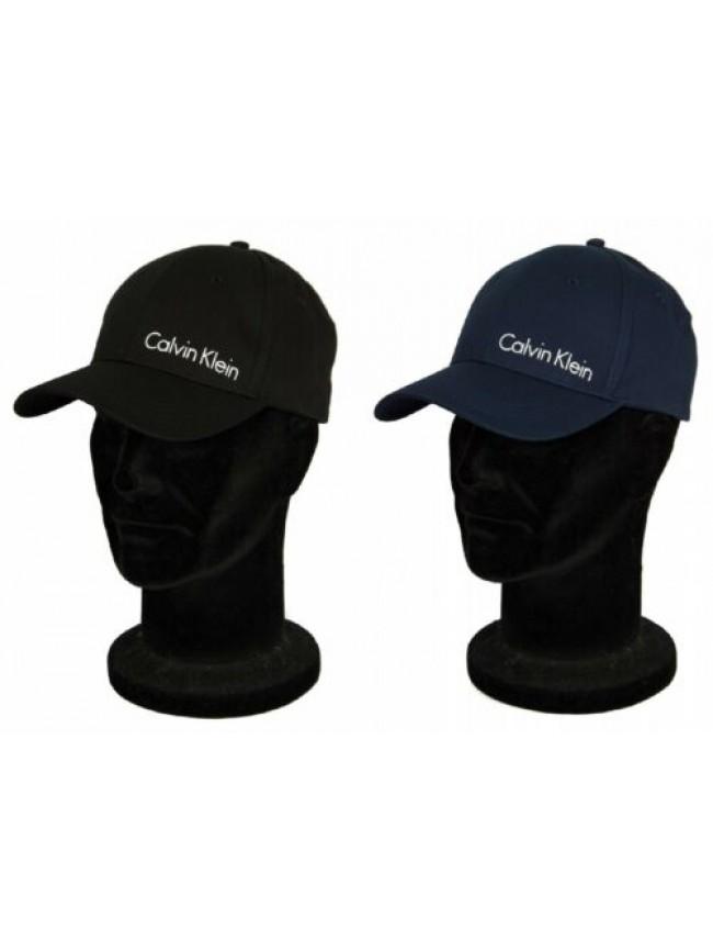 Cappello baseball cappellino regolabile con visiera CK CALVIN KLEIN articolo KM0