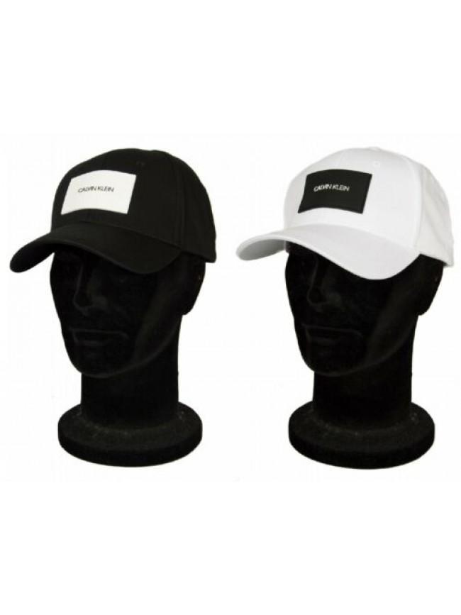 Cappello baseball cappellino regolabile con visiera CK CALVIN KLEIN articolo KU0