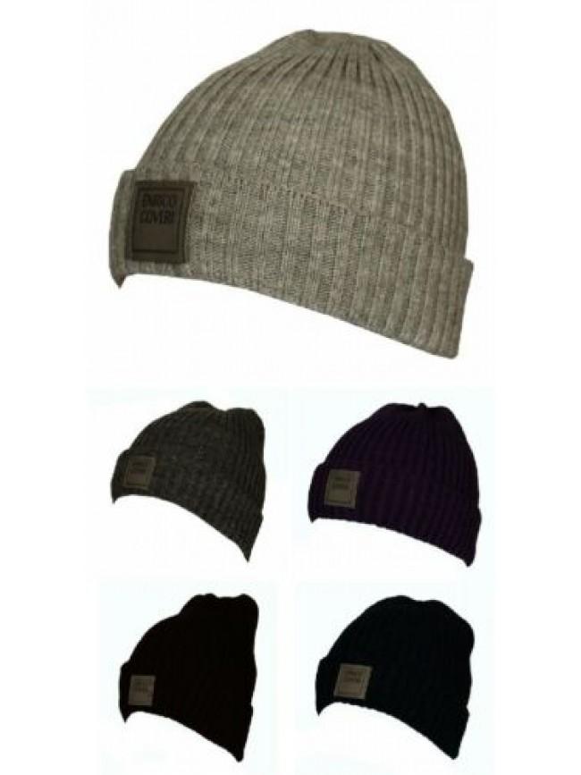 Cappello berretto con risvolto ENRICO COVERI articolo MC1041 Made in Italy