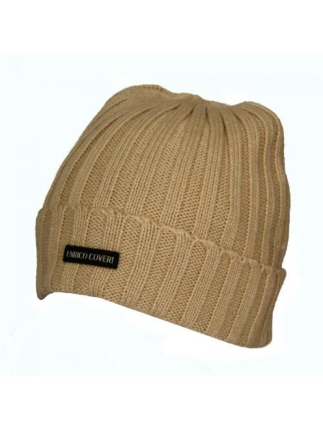 Cappello berretto con risvolto ENRICO COVERI articolo MC1260 Made in Italy
