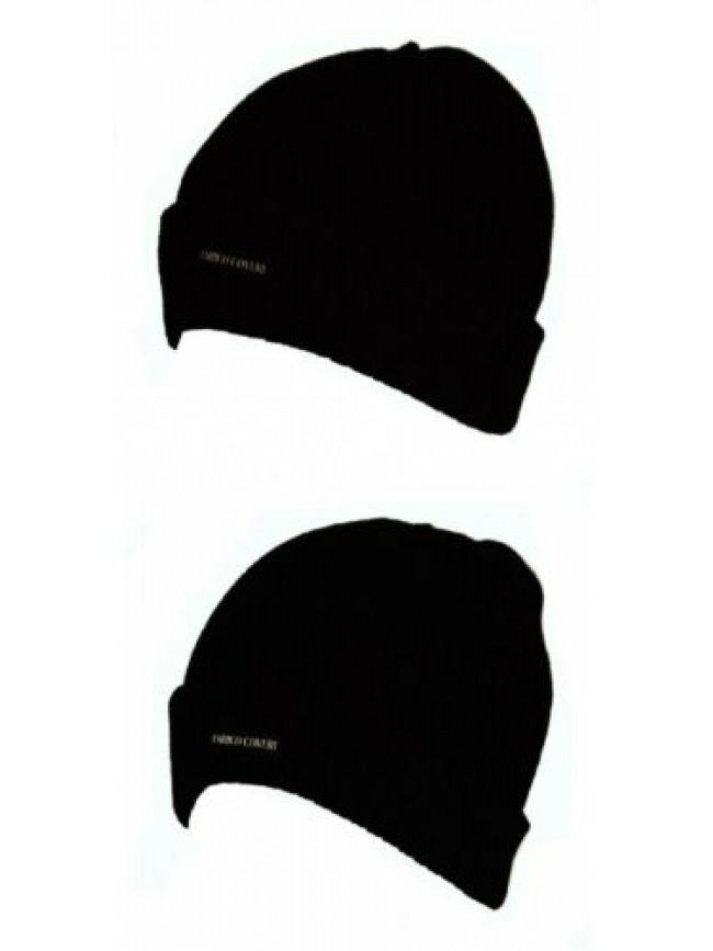 Cappello berretto con risvolto ENRICO COVERI articolo MC1347 Made in Italy