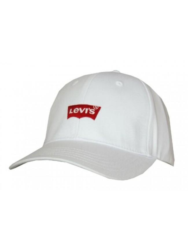 Cappello berretto con visiera uomo regolabile cotone LEVI'S articolo 229870