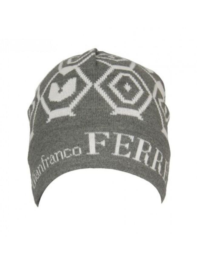 Cappello berretto cuffia con risvolto GF GIANFRANCO FERRE' articolo 01222 Made i