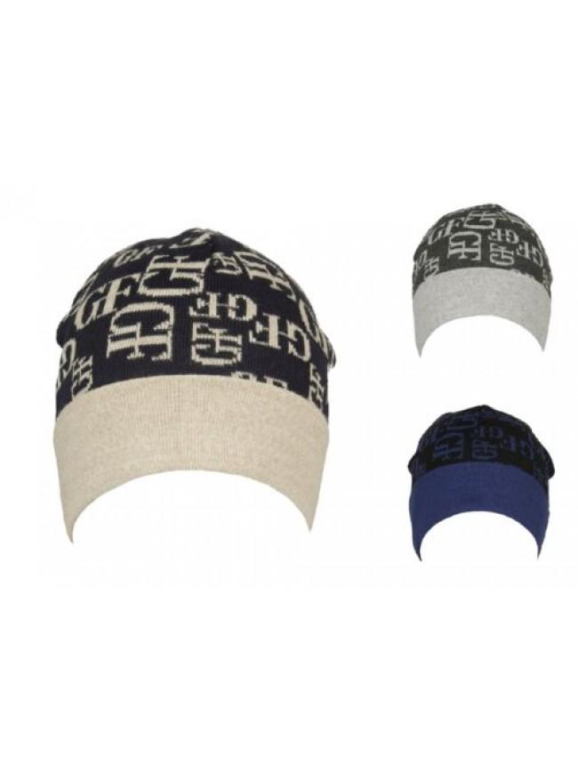 Cappello berretto cuffia con risvolto GF GIANFRANCO FERRE' articolo 01312 Made i