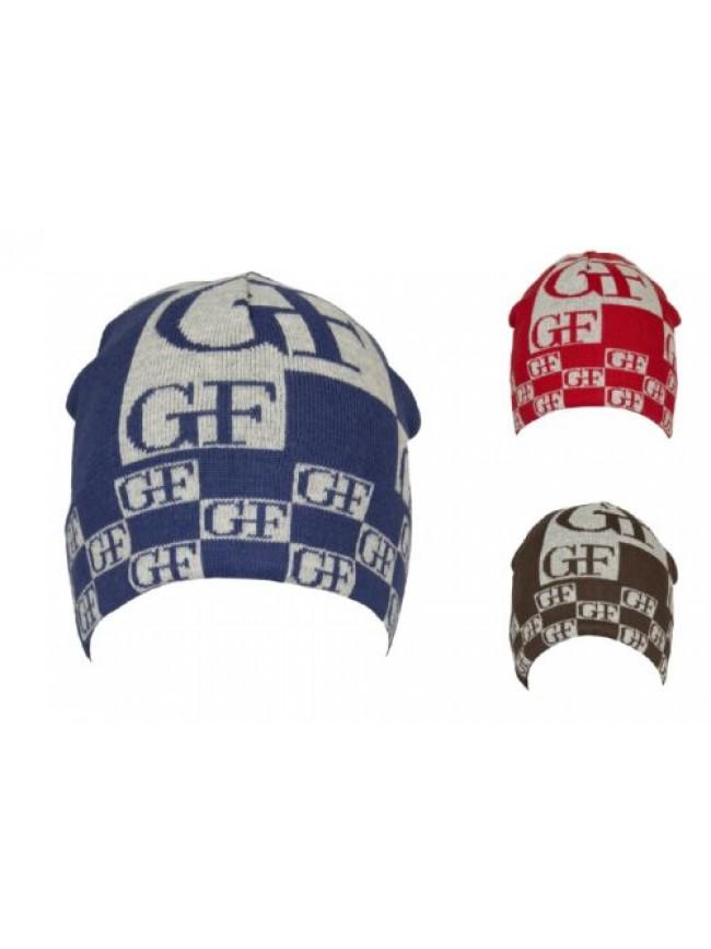 Cappello berretto cuffia con risvolto GF GIANFRANCO FERRE' articolo 01316 Made i