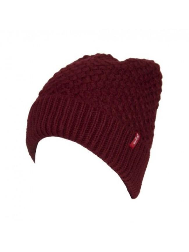 Cappello berretto cuffia con risvolto LEVI'S articolo 225261 CAPPELLINO knitted