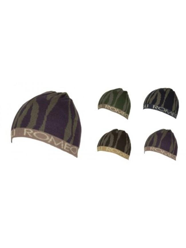 Cappello berretto cuffia unisex ROMEO GIGLI articolo MC1404G Made in Italy