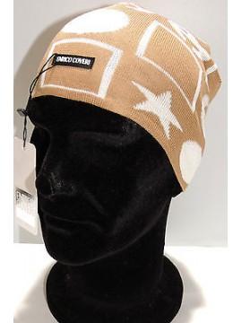 Cappello berretto cuffia unisex hat ENRICO COVERI a.CACO027 col.corda Italy