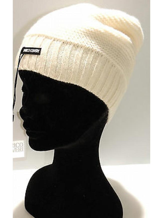 Cappello berretto donna hat woman ENRICO COVERI art.CACO007 col.panna Italy