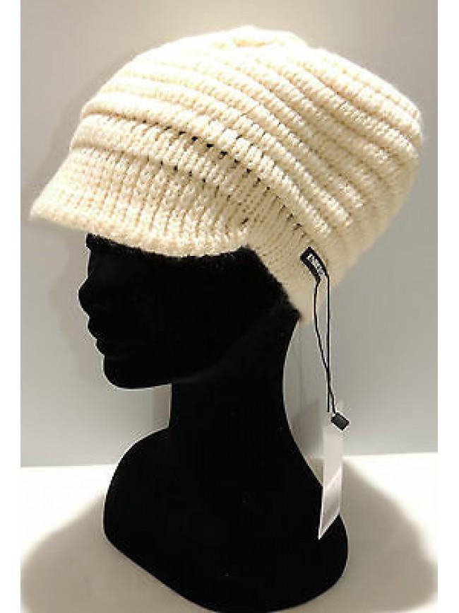 Cappello berretto donna hat woman ENRICO COVERI art.CACO017 col.panna Italy