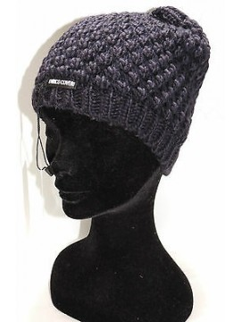 Cappello berretto donna hat woman ENRICO COVERI art.CACO019 col.blu Italy