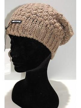 Cappello berretto donna hat woman ENRICO COVERI art.CACO019 col.nocciola Italy