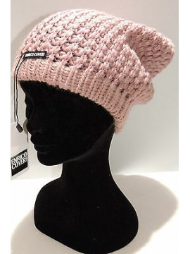 Cappello berretto donna hat woman ENRICO COVERI art.CACO019 col.rosa antic Italy