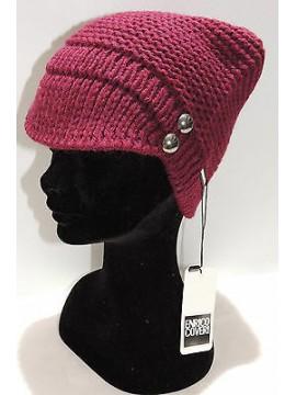 Cappello berretto donna hat woman ENRICO COVERI art.CACO020 col.serenella Italy