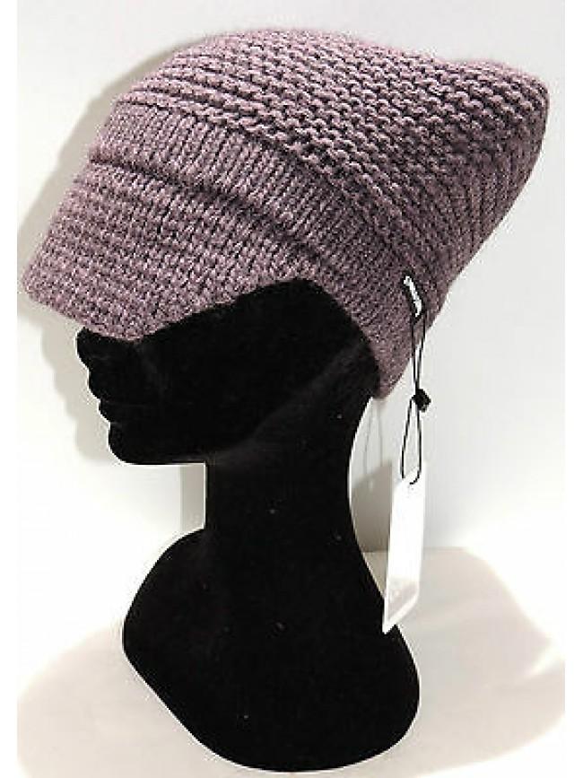 Cappello berretto donna hat woman ENRICO COVERI art.CACO022 col.ombra Italy