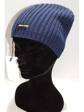 Cappello berretto donna hat woman ENRICO COVERI art.CACO026 col.blu Italy