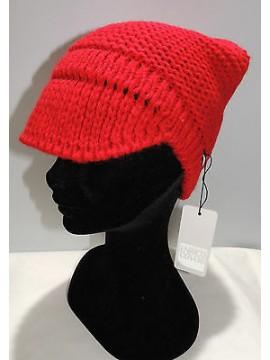 Cappello berretto donna hat woman ENRICO COVERI art.CACO045 col.rosso Italy