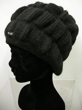 Cappello berretto hat SWEET YEARS art.MC1414 col.24 nero black Italy