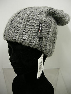 Cappello berretto hat SWEET YEARS art.MC1487 col.15 grigio grey Italy