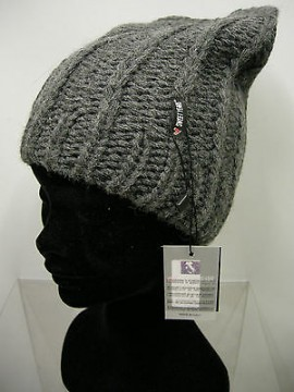 Cappello berretto hat SWEET YEARS art.MC1487 col.16 antracite Italy
