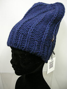Cappello berretto hat SWEET YEARS art.MC1487 col.29 blu Italy