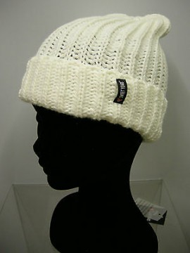 Cappello berretto hat SWEET YEARS art.MC1489 col.1 bianco white Italy