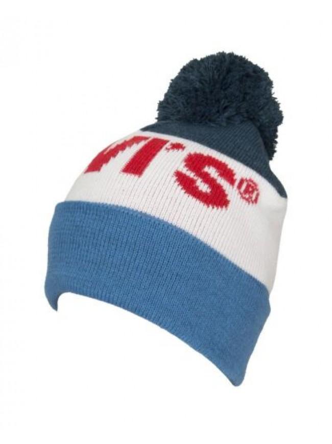 Cappello berretto unisex cappellino con risvolto e pon pon LEVI'S articolo 23076