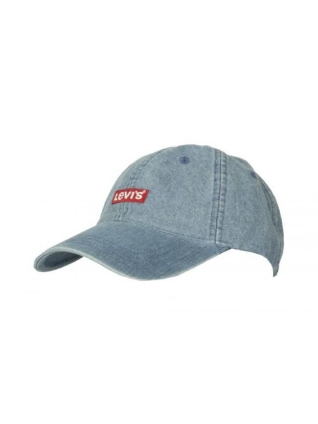 Cappello berretto uomo cotone con visiera LEVI'S articolo 230991 CAPPELLINO BASE