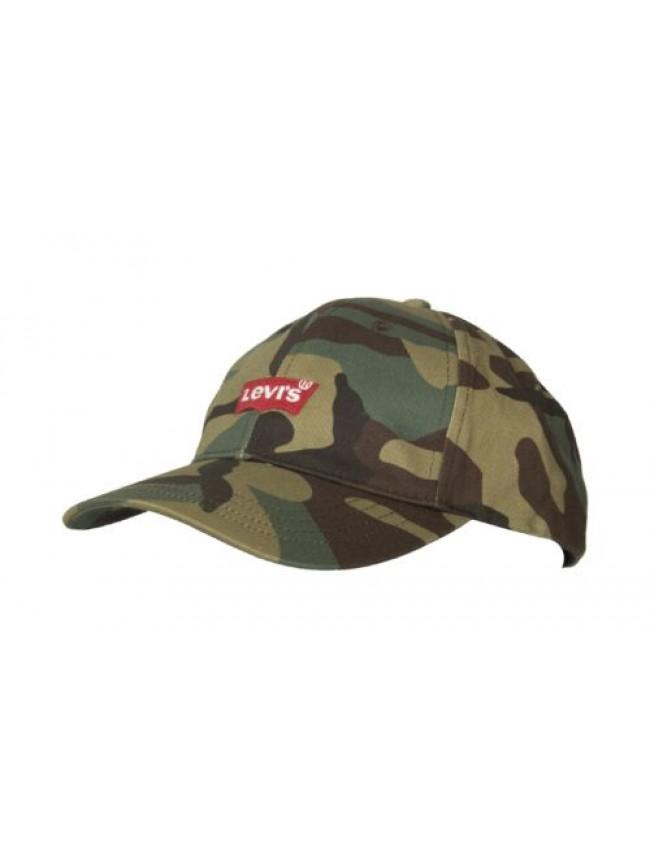Cappello berretto uomo cotone con visiera LEVI'S articolo 231079 CAPPELLINO MID